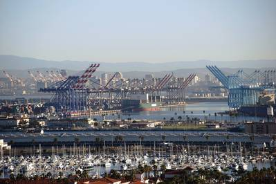Το λιμάνι του Λος Άντζελες (CREDIT: Adobestock / © Ginton