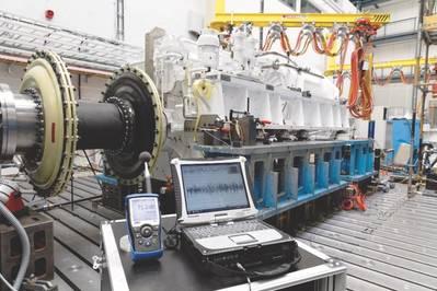 Ο προηγμένος ηλεκτρικός μετατροπέας Renk (AED). (Φωτογραφία: Renk)