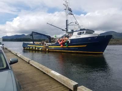 Η σκανδιναβική κυρία είναι όλοι μαζί και είναι έτοιμη για θαλάσσιες δοκιμές. (Φωτογραφία: Νοτιοανατολική ντίζελ)