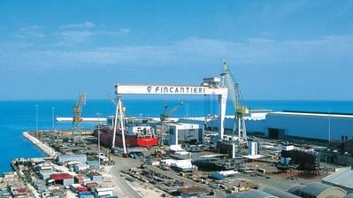 Изображение: Fincantieri Shipyard