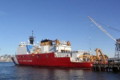 Катер береговой охраны США Хили (Фото: Vigor)
