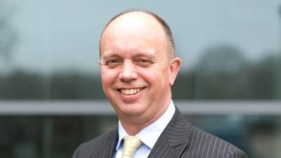 السير مايكل بيبي. الصورة: غرفة المملكة المتحدة للشحن