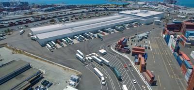 الصورة مجاملة من ميناء أوكلاند