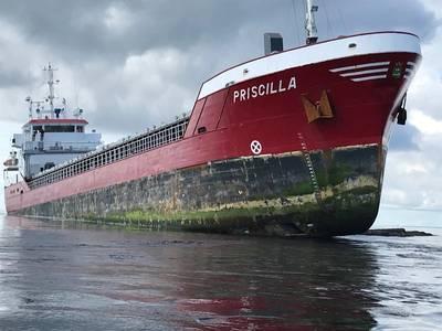 ام بريسيلا. الصورة: خفر السواحل ، THURSO RNLI
