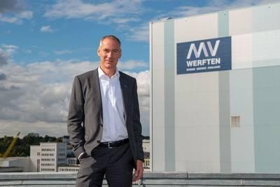 تم تعيين Raimon Strunck (53) كمسؤول تكنولوجي MV WERFTEN (CTO). الصورة: © MV WERFTEN