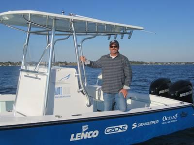 جون كندا ، رئيس شركة Ocean5 Naval Architects