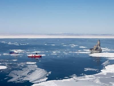 وقال المتحدث باسم اكسون وروسنيفت ان خروج اكسون من المشروعات لن يؤثر على مشروع ساخالين قبالة الساحل الشرقى لروسيا. (الصورة: روزنيفت)