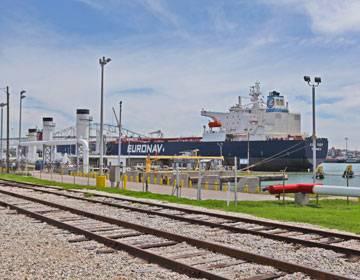 फोटो: कॉर्पस क्रिस्टी का बंदरगाह