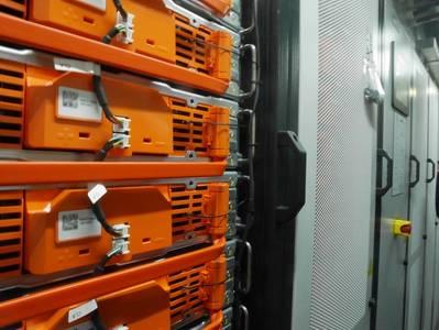एक यात्री नौका (फोटो: डीएनवी जीएल) पर ऊर्जा भंडारण प्रणाली