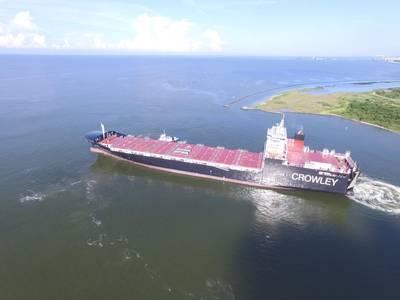 エルコキはLNGを搭載した世界初のコンロ船の1つです(Photo:Crowley)