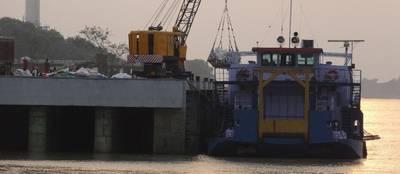 写真:インドの内陸水路局(IWAI)