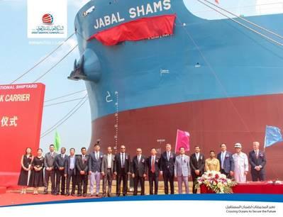 照片由阿曼船运公司提供