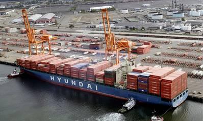 照片:现代商船(HMM)
