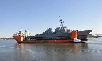 照片:美国海军