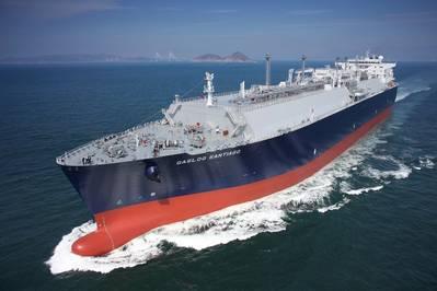 照片:SHI-bulit LNG运输船