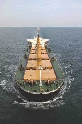 (档案照片:Eagle Bulk Shipping)