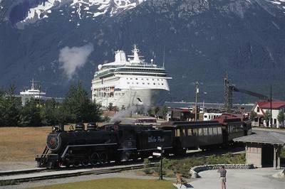 (الصورة مجاملة من White Pass و Yukon Route)