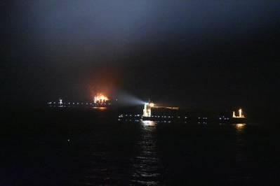 (Foto: Guarda costeira indiana)