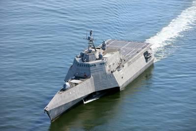 (Foto de la Marina de los EE. UU. Cortesía de Austal USA)