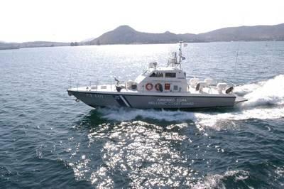 (Foto cedida pela Guarda Costeira Helênica)