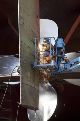 (Foto del archivo: Bay Shipbuilding)