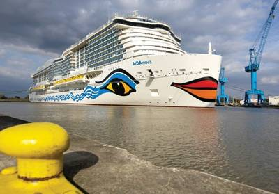 AIDAnova. Изображение: © AIDA Cruises