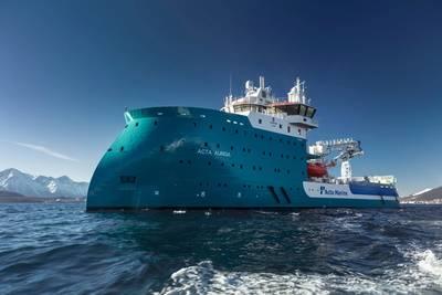 Acta-Auriga-on-Sea试验照片Ulstein Group