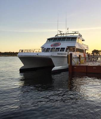 Archivo Imagen: CREDIT Cross-Bay Ferry