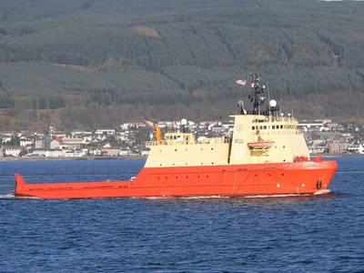 CAROLYN CHOUEST: судно Edison Chouest, работающее в водах Тихого океана Фотографии: Иэн Кэмерон
