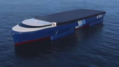 Das konzeptionelle NYK EcoShip (CREDIT: NYK)