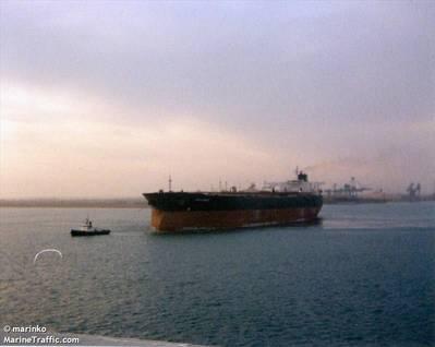 Der Tanker riah (Dateibild: CREDIT MarineTraffic.com / © Marinko)