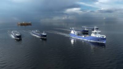 Eidsvaag Pioneer,将作为AUTOSHIP项目的一部分配备用于远程操作和自动运输图片:Kongsberg