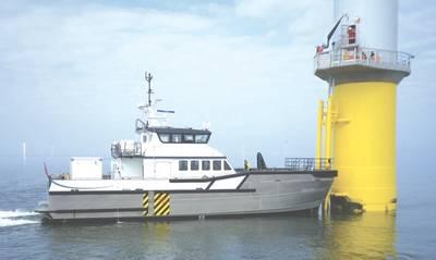 Ein 26-Meter-Südbootsentwurf (Bild mit freundlicher Genehmigung von Blount Boats)