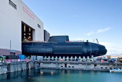 File photo: Audacious, das vierte von sieben Angriffs-U-Booten der Astute-Klasse, die für die Royal Navy gebaut wurden, wurde im April 2017 in Barrow-in-Furness gestartet (Foto: Royal Navy)