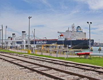 Foto: Hafen von Corpus Christi