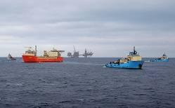 Foto: Servicio de suministro de Maersk