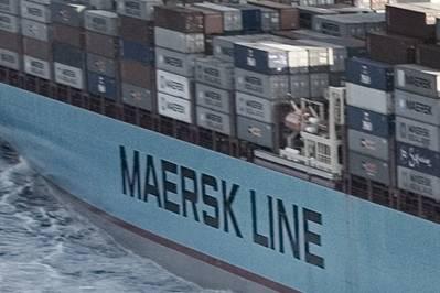 Foto del archivo: Maersk Line