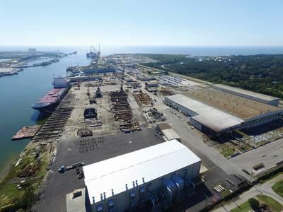 VT Halter в Pascagoula, MS, выиграл контракт на $ 746 млн. На строительство ведущего устройства для полярной безопасности Береговой охраны США. Фото: В.Т. Холтер.