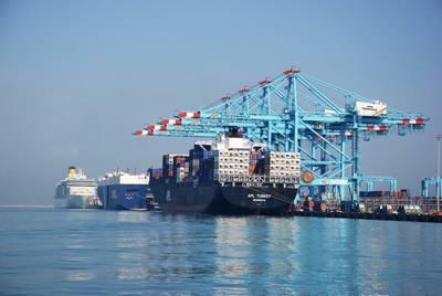 Imagem: APM Terminals Bahrain
