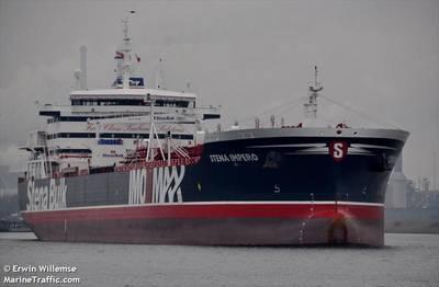 Imagen de archivo del Stena Impero (CRÉDITO: MarineTraffic.com / © Erwin Willemse