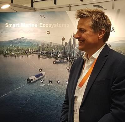 Jörgen Strandberg, Capitán, Gerente General de ANC Advanced Technology Electrical & Automation en Wärtsilä SAM Electronics.