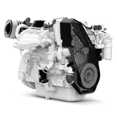 John Deere Power Systems está enviando el nuevo motor marino PowerTech 4045SFM85 a los propietarios y constructores de embarcaciones. Foto: John Deere Power Systems