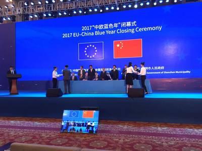 Jumbo firmó la LOI con China Merchants Industry Holdings (Foto: Jumbo)