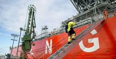 LNG para Marina. Foto: Skangas