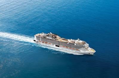 MSC परिभ्रमण, उद्योग की सबसे बड़ी निजी स्वामित्व वाली कंपनी, $ 13 बिलियन के विस्तार के बीच में है, जो 2017 के MSC मेरवीग्लिया के वितरण के बाद, 2020 के मध्य तक 25 जहाजों तक अपने बेड़े को लाएगा। अभी भी चार मेरवीग्लिया श्रेणी के जहाज हैं। फोटो: एमएससी