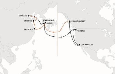 Mapa: Hapag-Lloyd