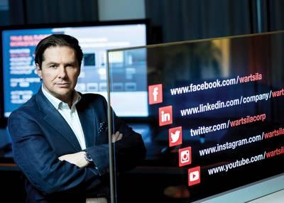 Marco Ryan, diretor digital e EVP, Wärtsilä. Foto: Wärtsilä