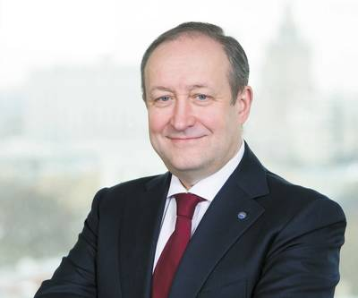 PAO Sovcomflotの社長兼CEO、Sergey Frank。写真:ソフコムフロート。