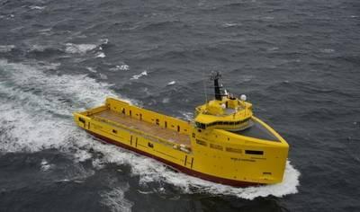 PSV World Sapphire. Imagem: Damen Shipyards
