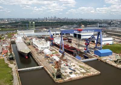 Philly Werft Luftbild Foto: Philly Werft